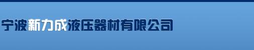 宁波新力成液压器材有限公司